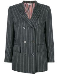 Thom Browne - Chalk Stripe Sport Coat - Lyst