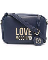 Love Moschino - ロゴ カメラバッグ - Lyst