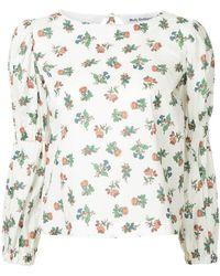 Molly Goddard - Floral Print Blouse - Lyst