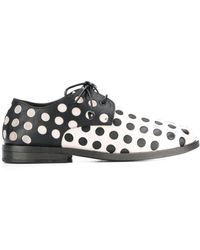 Marsèll Oxford Schoenen Met Stippen - Zwart