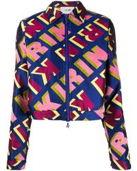 Kirin ロゴ ジャケット - ブルー