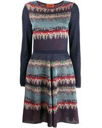 Missoni - パターン ドレス - Lyst