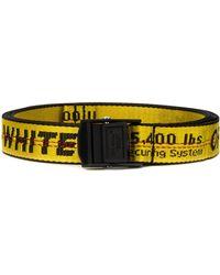 Off-White c/o Virgil Abloh - Ceinture à bande logo - Lyst
