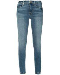FRAME - Klassische Skinny-Jeans - Lyst
