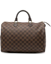 Louis Vuitton - Сумка Speedy 35 2008-го Года - Lyst