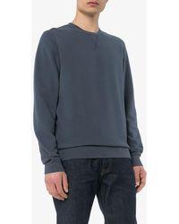 Sunspel スウェットシャツ - ブルー