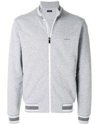Z Zegna - Zip Up Sweatshirt - Lyst