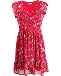 Liu Jo Texan Flower Print Mini Dress