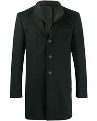 Karl Lagerfeld Manteau à design superposé - Noir
