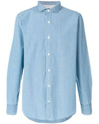Eleventy - Classic Fitted Shirt - Lyst