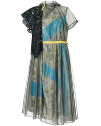 Kolor - Kleid mit Gürtel - Lyst