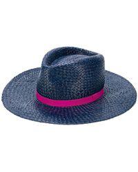 Paul Smith - Open Weave Hat - Lyst