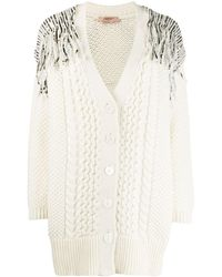 Twin Set Sequin Knitted Cardigan - Multicolor