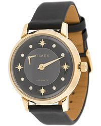 Timex 38mm Automatic Gold-tone Watch - Multicolor