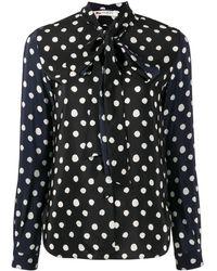 Ports 1961 Polka Dot Shirt - Black
