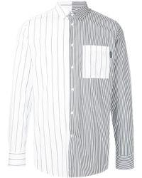Guild Prime - Contrast Striped Shirt - Lyst