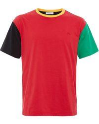 JW Anderson - カラーブロック Tシャツ - Lyst