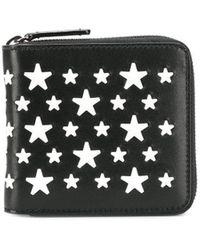 Jimmy Choo Lawrence 財布 - ブラック