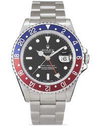 Rolex Наручные Часы Gmt-master Pre-owned 40 Мм 1990-х Годов - Черный