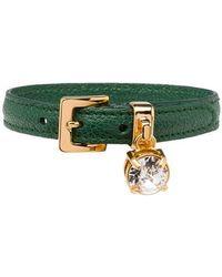 Miu Miu - Buckled Crystal Bracelet - Lyst