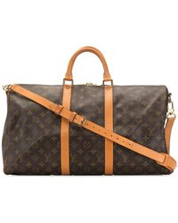 Louis Vuitton - Сумка Keepall 50 Bandoulière Pre-owned - Lyst