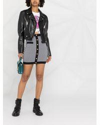 Dolce & Gabbana Байкерская Куртка - Черный