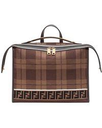 Fendi - Logo Briefcase - Lyst