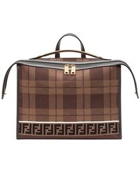 Fendi - Logo Briefcase - Lyst