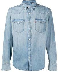 Levi's Barstow Western Denim Shirt - Blue