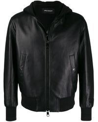 Neil Barrett - Leather Jacket - Lyst