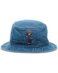 Polo Ralph Lauren Denim Vissershoed - Blauw