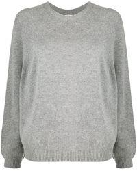 Peserico クルーネック スウェットシャツ - グレー
