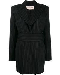 Alexandre Vauthier - Pinstripe Suit Dress - Lyst