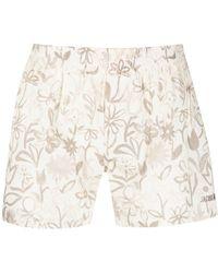 Jacquemus Le Caleçon Floral-print Boxer Shorts - Multicolour