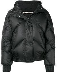 Ienki Ienki Hooded Puffer Jacket - ブラック