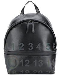 Maison Margiela Рюкзак С Логотипом - Черный
