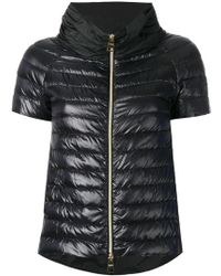 Herno | Shortsleeved Puffer Jacket | Lyst