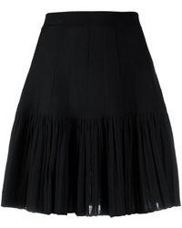Sandro Bailey Pleated Skirt - Black