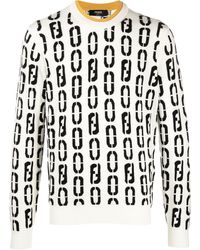 Fendi Джемпер С Логотипом - Многоцветный