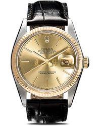 Lizzie Mandler Rolex 'Oyster Perpetual Datejust' Armbanduhr, 36mm - Mettallic