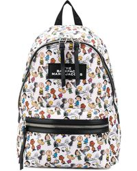 Marc Jacobs Сумка The Backpack Snoopy - Черный