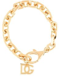 Dolce & Gabbana チェーンリンク ブレスレット - メタリック