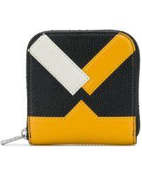 KENZO ファスナー財布 - ブラック