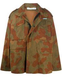 Off-White c/o Virgil Abloh - Jacke mit Camouflage-Print - Lyst