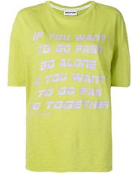 Each x Other Go Together Tシャツ - イエロー
