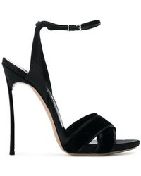 Casadei - Crossover Strap Sandals - Lyst