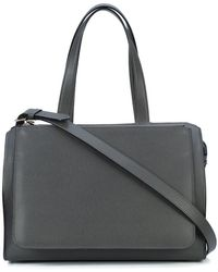 Valextra - Zipped Tote - Lyst