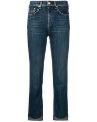 Rag & Bone Stove pipe jeans - Bleu