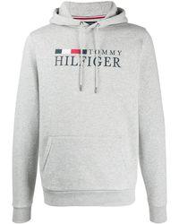 Tommy Hilfiger ロゴ パーカー - グレー