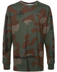 78693f67fb3 Longsleeved Sweater - Green